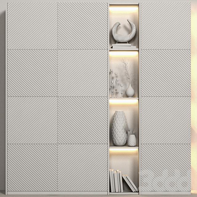 Decorative wardrobe 07