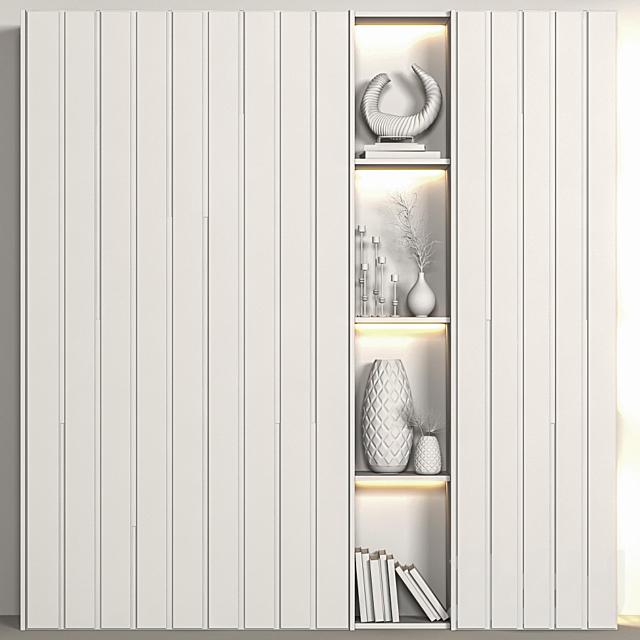 Decorative wardrobe 08