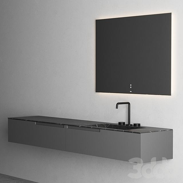 Fiora Synergy Vanity Unit set 5