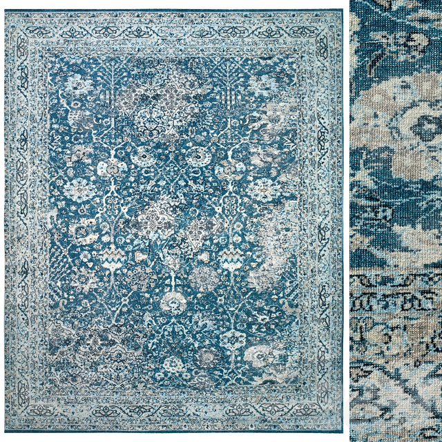 ALMIRA HAND-KNOTTED WOOL RUG