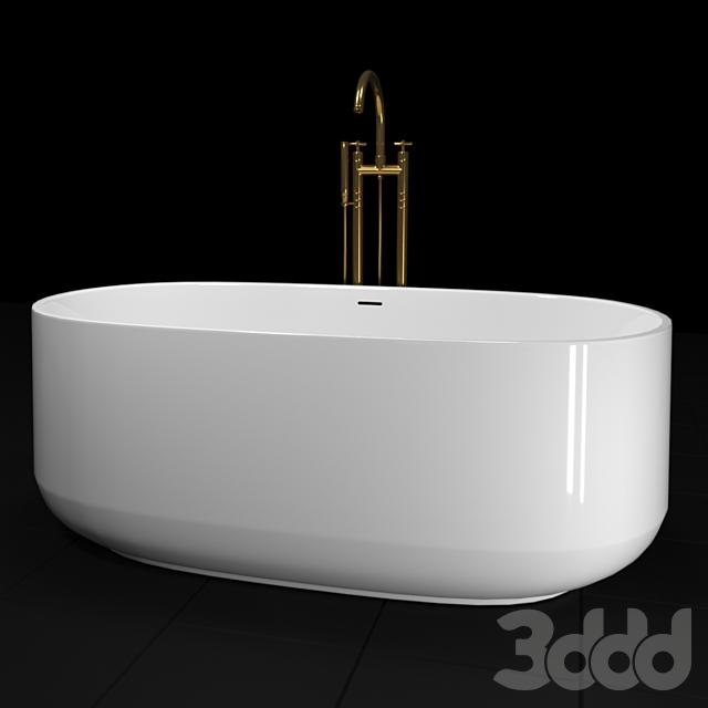 Ceric Kohler 165х74см свободностоящая ванна K-8336-0