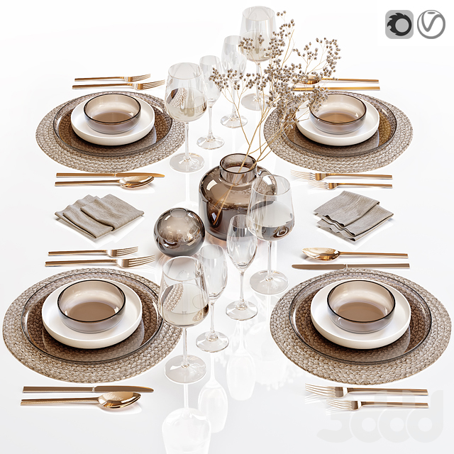 Сервировка стола / Table setting 28