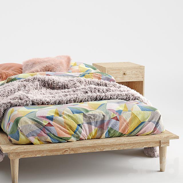 Amelia Platform Bed 2