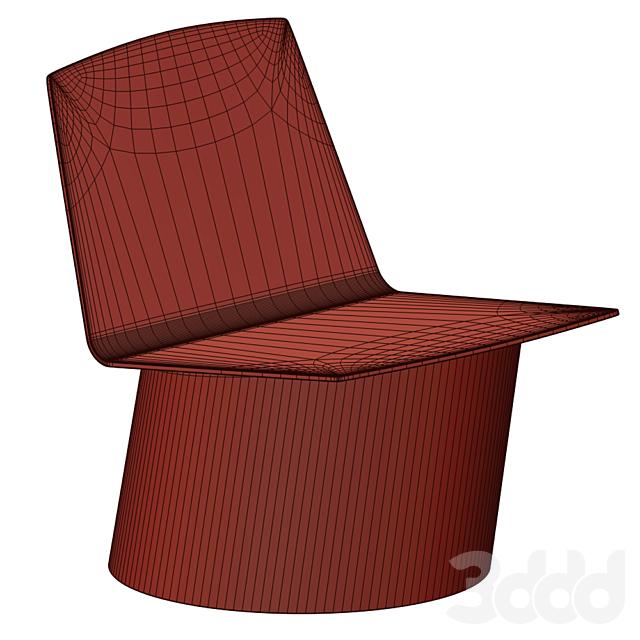 BIAS L   Easy chair By Crassevig
