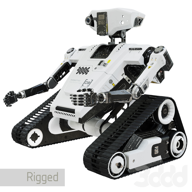 Robot Rt model 1.0 High-Poly
