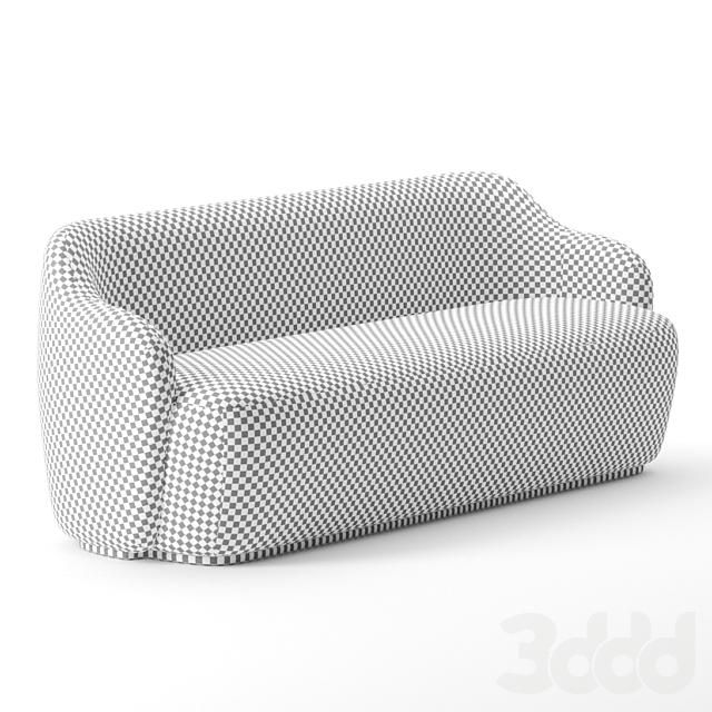 Barba sofa by Fogia
