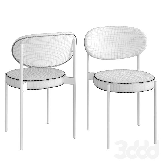 Verpan Series 430 Black Dining Chair