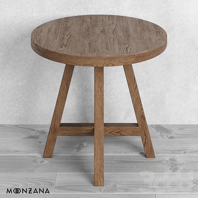 OM Круглый столик Принтмейкер Moonzana