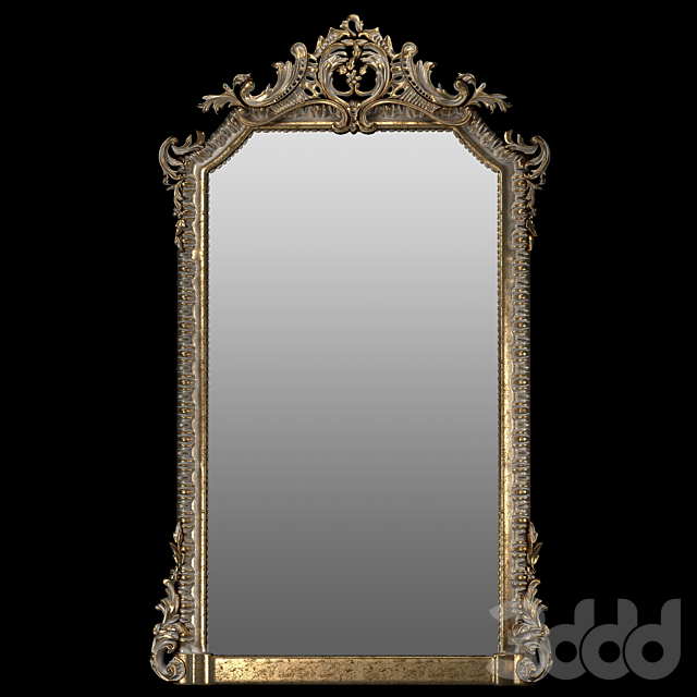 French 19th Century Louis XVI Style Giltwood Classical Mirror