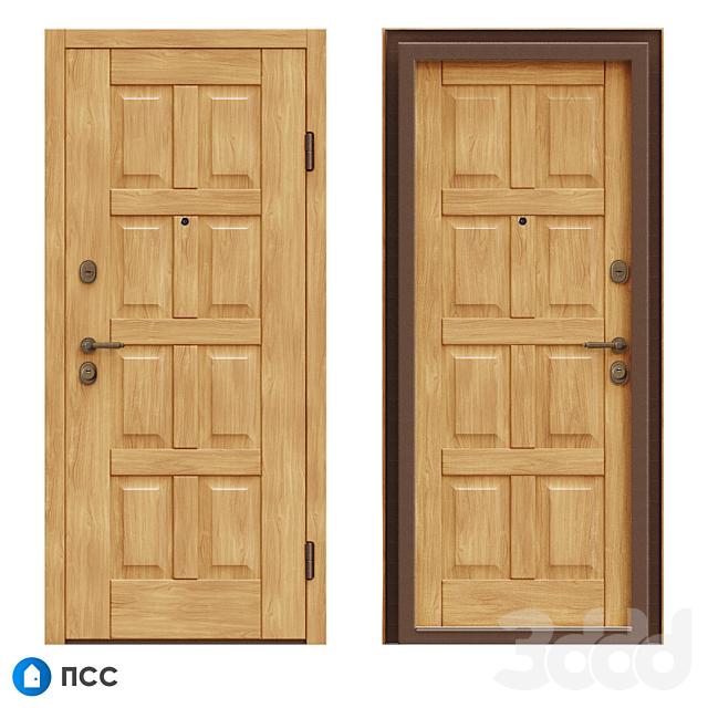OM Входная дверь ЭКО (ЭКО-66) - ПСС