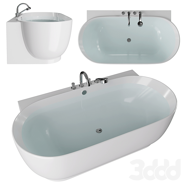 Ванна duravit Luv 700433