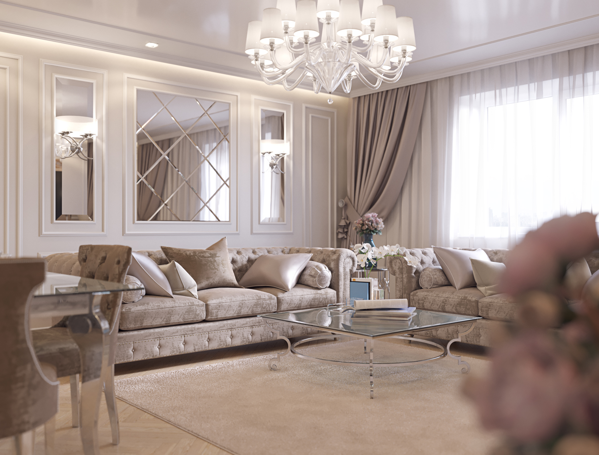 for Living room cinema 4d